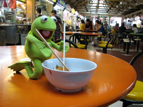 Kermit The Frog He S Been More Places Than You The
