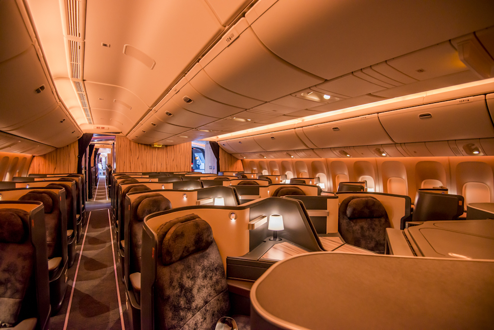 Premium Business Class Mood Lighting 1